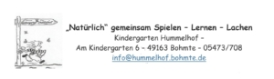 Kindergarten Hummelhof in Herringhausen